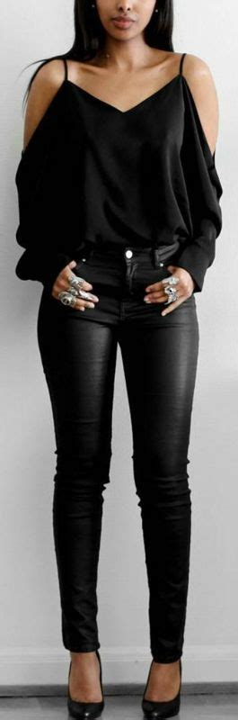 Best 25+ All black fashion ideas on Pinterest | All black outfit casual All black outfit and ...