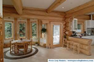 pictures of log home interiors peco log homes log home pictures