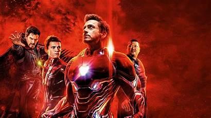 8k Avengers Endgame Iron 4k Team Ultra