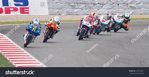 Barcelona - June 5: Some Unidentified Riders Racing At ...