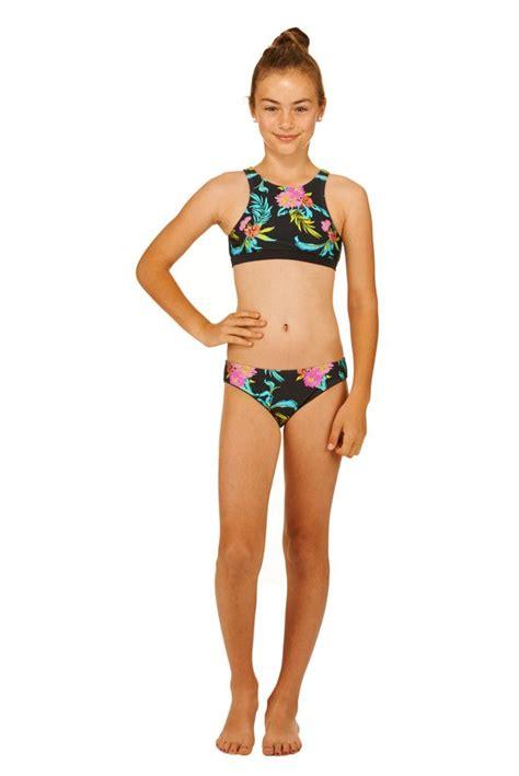 teen bikini s115t02 adolescente paradise biquini set tipos