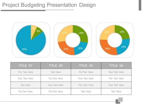 project budgeting  design powerpoint
