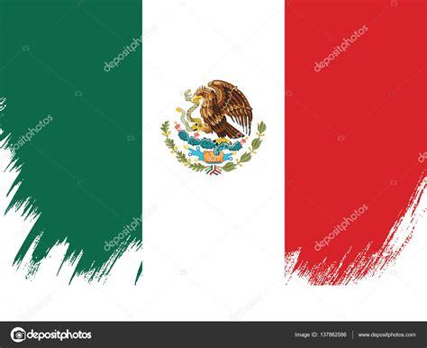 Mexikói zászló sablon banner — Stock Vektor © Igor_Vkv ...