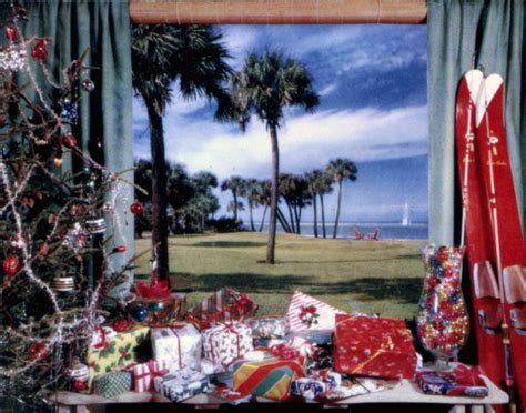 florida memory view showing christmas presents and tree