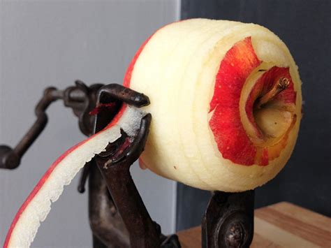 kitchen histories easy  pie apple peeler etsy journal