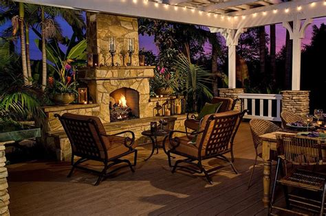 Gas Burning Outdoor Fireplace I Xl Building Products