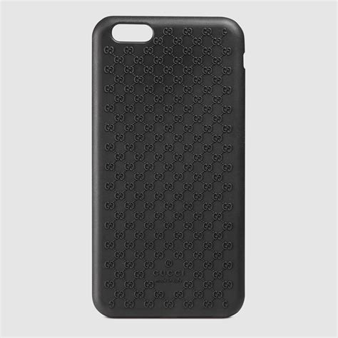 gucci iphone gucci bio plastic iphone 6 plus in black for lyst