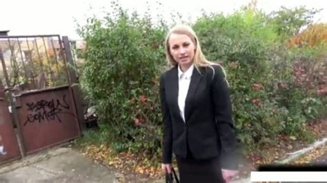 Public Agent Russian Blonde With Small Tits Fucked