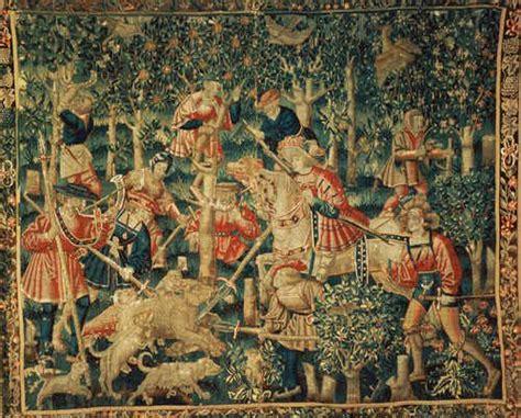 Tapisserie Renaissance by Tapisserie La Chasse Aux Sangliers Tournai Renaissance