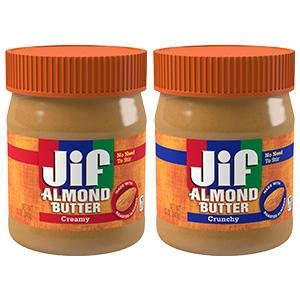 Amazon.com : Jif Almond Butter, Creamy, 12 Ounce : Grocery