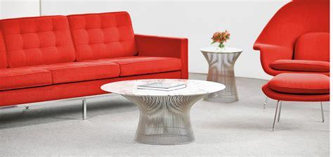 platner coffee table knoll