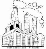 Clipart Factory Pollution Air Illustration Royalty Visekart Rf Illustrationsof sketch template