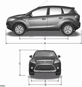 Ford Kuga Dimensions : dimension ford kuga ~ Medecine-chirurgie-esthetiques.com Avis de Voitures