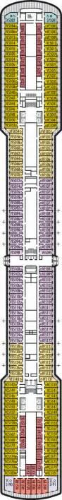 Ms Noordam Deck Plan by Veranda Deck Deck Plan