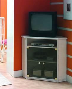 Petit Meuble Tele : meuble tv d 39 angle en rotin brin d 39 ouest ~ Teatrodelosmanantiales.com Idées de Décoration