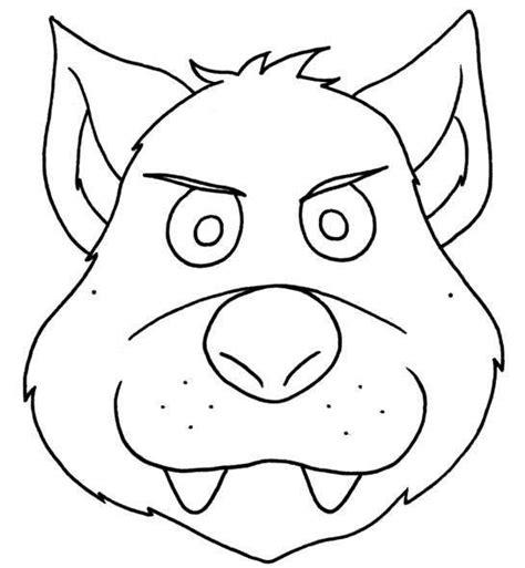 lupo disegno facile per bambini maschera lupo fai da te lw84 187 regardsdefemmes