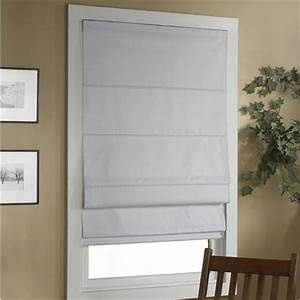 cordless insulated blackout roman shade With cordless roman shades for windows