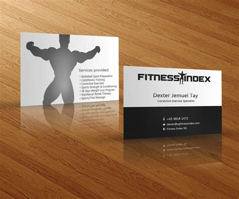 Choose an personal trainer business cards design template, and let us add your logo and contact info. Fitness Business Cards - Business Card Tips