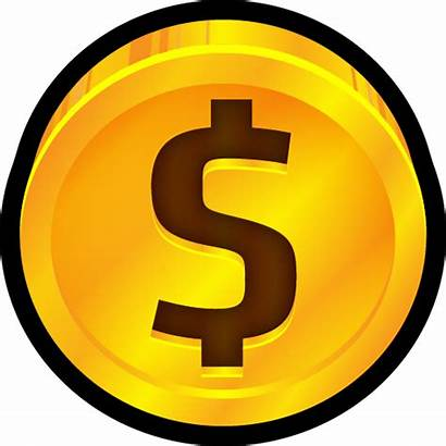 Dollar Coin Icon Icons Transparent Clip Pricing