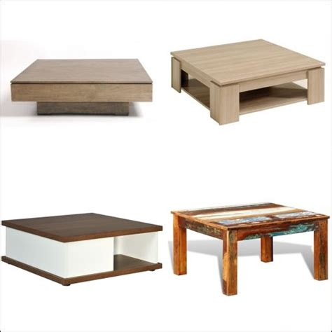 table basse carr 233 e en bois comparer les prix avec le guide achat kibodio