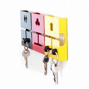 Cucampre, Square, Key-holder, Car, Black, -, Cucampre