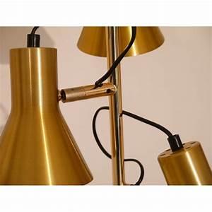 Lampadaire 3 Spots : lampadaire vintage laiton 3 spots annee 60 la maison retro ~ Teatrodelosmanantiales.com Idées de Décoration