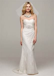 david39s bridal sweetheart strapless lace wedding dress ebay With wedding gown preservation davids bridal