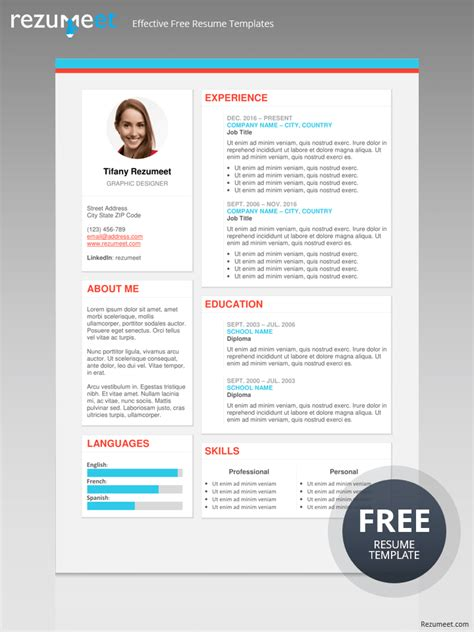 Modern Cv Template Free by The Plateau Free Modern Resume Template Classic Resume