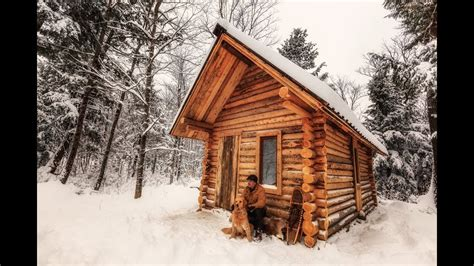 How To Build A Log Cabin Building A Log Cabin From Scratch 1funny