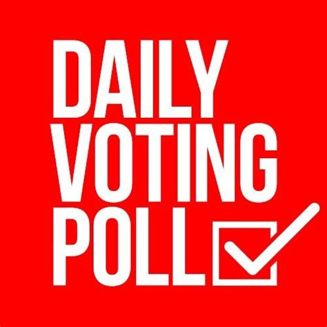"""Daily Voting Poll On Twitter """"who Should Be The Next"""