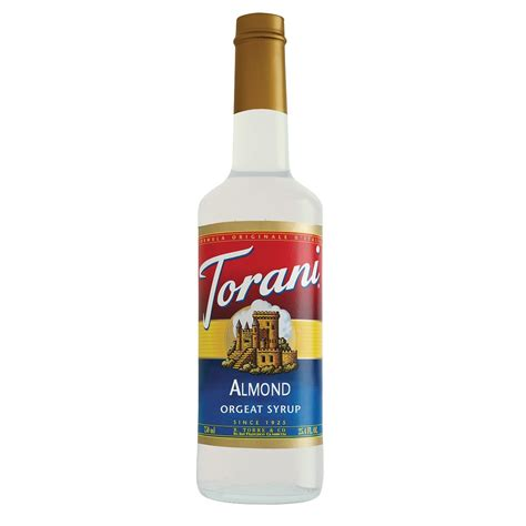 Torani Almond (formerly Orgeat) Syrup   750 ml Bottle(s), 750 ml Plastic Bottle(s