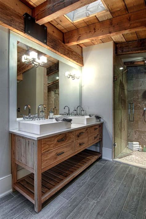 rustic bathroom designs one kindesign s top 35 bathroom pins of 2016 Modern