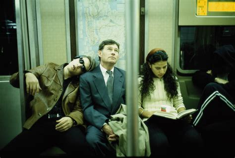 nyc subway riders  read books huffpost