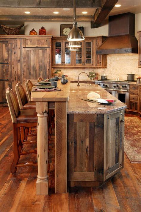 la cuisine en bois massif en beaucoup de photos cuisine