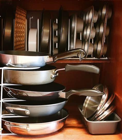 organized kitchen ideas 58 cool kitchen pots and lids storage ideas digsdigs