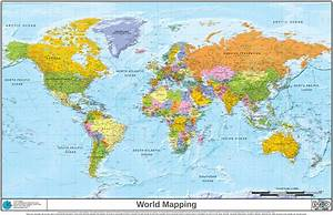 NASA High Res World Map - Pics about space