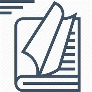 Book, document, documentation, guideline, manual, paper icon