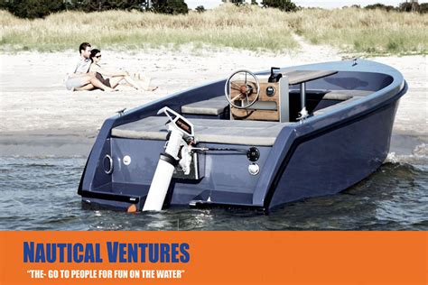 Electric Pleasure Boat by Rand Boats Go Green Blog Nautical Ventures