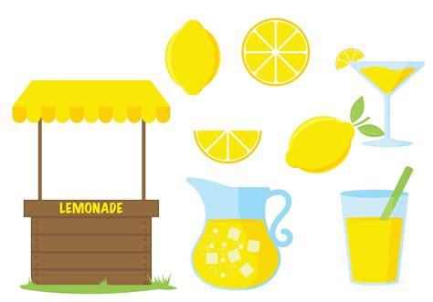 Lemonade Clipart Lemonade Stand Vector Icon Free Vector