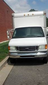 Sell Used 2003 Ford E 350 Cutaway 15 Foot Box Truck Delivery Van Gvw 12000 No Reserve In