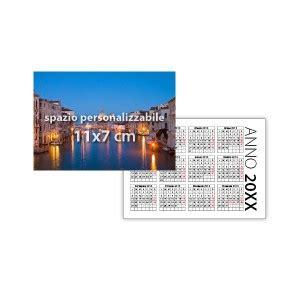 calendari vendita stampa personalizzazione