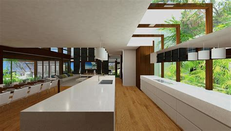 japanese style home interior design resort house chris clout design