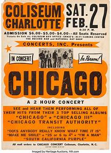 How To Track Purchase Orders Chicago Coliseum Charlotte Concert Poster Concerts Inc