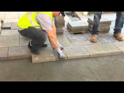 How To Install Belgard Pavers Step 8  How To Lay