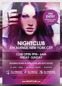 25 Affordable Templates of Nightclub Flyer Design