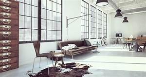 Déco Style Industriel : conseils d co pour un int rieur au style industriel madame figaro ~ Teatrodelosmanantiales.com Idées de Décoration
