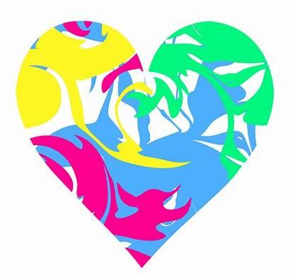 Heart Swirl Colorful Clipart Clip Swirls Hearts