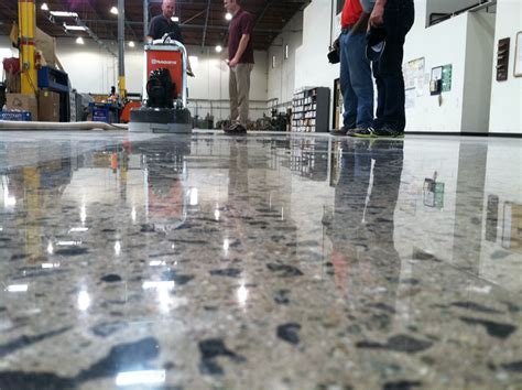 Sealed Concrete Floor by All About Polished Concrete Am Thai Kitchen
