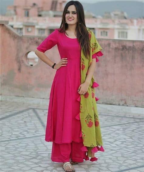 beautiful party wear fancy kurti simple craft ideas