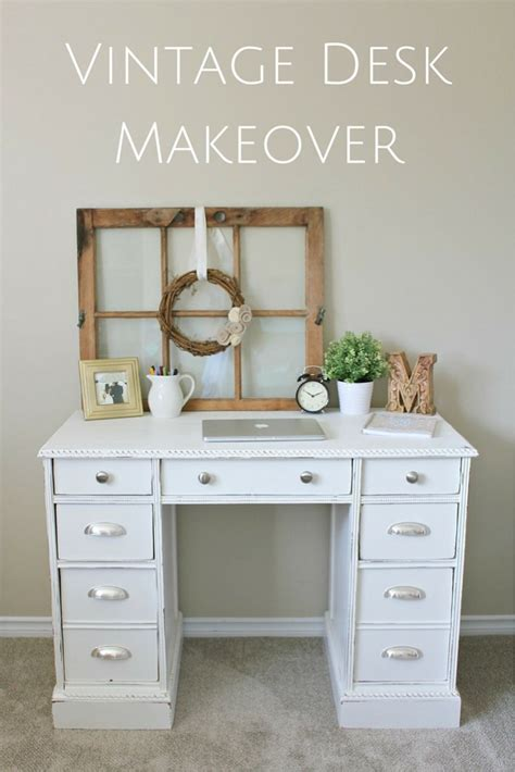 the story of greatness a vintage desk makeover making